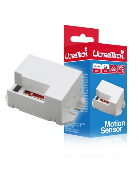 MINI Mozgásérzékelő beltéri UltraTech MS114WH