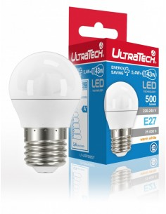 LED IZZÓ E27 5 WATT ULTRATECH