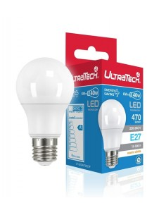 LED IZZÓ E27 6 WATT ULTRATECH