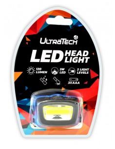 UltraTech LED fejlámpa 3...