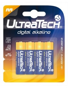 UltraTech digital elem AA 4 darabos bliszter