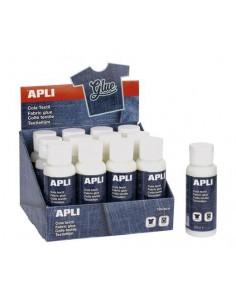 Textilragasztó, 80 ml, APLI