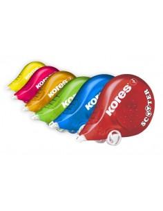 Hibajavító roller 42 mm x 8 m KORES Scooter vegyes szín