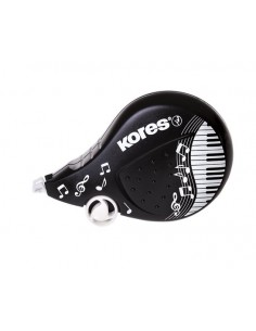 Hibajavító roller 42 mm x 8 m KORES Scooter Black&White vegyes
