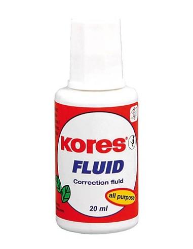 Hibajavító folyadék oldószeres 20 ml KORES Fluid