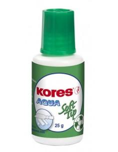 Hibajavító folyadék vízbázisú szivacsos 20 ml KORES Aqua Soft Tip