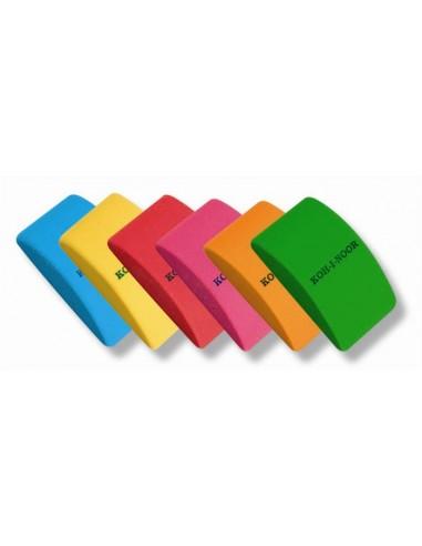 Radír íves KOH-I-NOOR vegyes szín