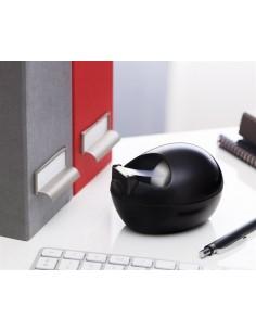 Ragasztószalag-adagoló asztali feltöltött kavics formájú 3M SCOTCH  fekete