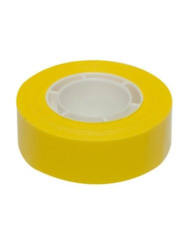 Ragasztószalag 19 mm x 33 m APLI sárga