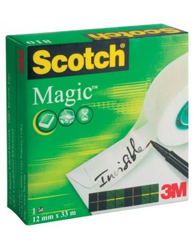 Ragasztószalag 12 mm x 33 m 3M SCOTCH Magic Tape 810