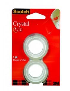 Ragasztószalag 19 mm x 75 m 3M SCOTCH Crystal