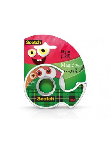 Ragasztószalag adagolón kézi 19 mm x 15 m 3M SCOTCH Magic Tape 810