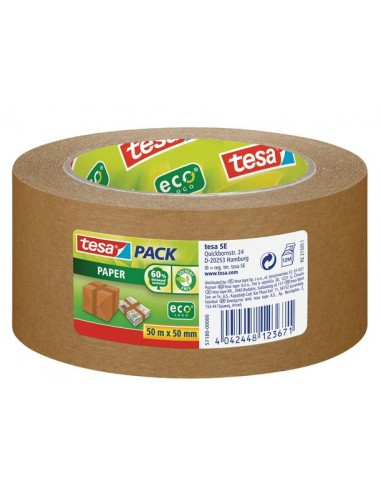Csomagolószalag papír 50 mm x 50 m TESA tesapack® barna