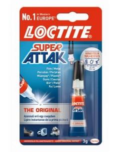 Pillanatragasztó 3 g HENKEL Loctite Super Attak Universal