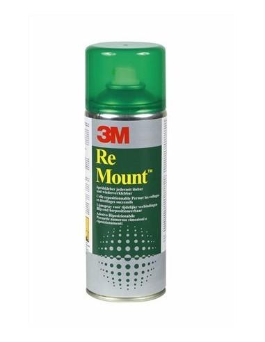 Ragasztó spray 400 ml 3M SCOTCH ReMount