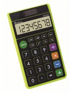 Zsebszámológép 8 számjegy környezetbarát VICTORIA GVZ-62Z zöld