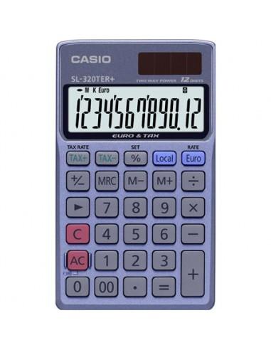 Zsebszámológép 12 számjegy CASIO SL 320 TER+
