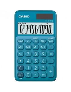 Zsebszámológép 10 számjegy CASIO SL 310 kék