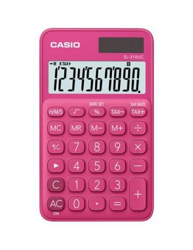 Zsebszámológép 10 számjegy CASIO SL 310 rózsaszín