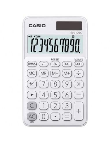 Zsebszámológép 10 számjegy CASIO SL 310 fehér