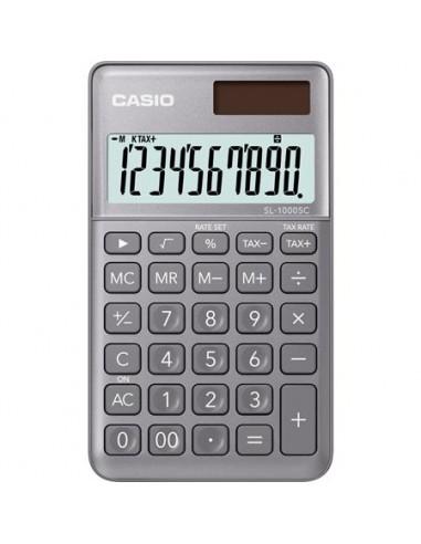 Zsebszámológép 10 számjegy CASIO SL 1000 szürke