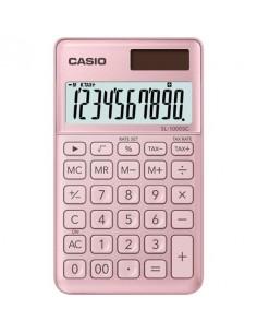 Zsebszámológép 10 számjegy CASIO SL 1000 világos rózsaszín