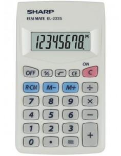Zsebszámológép 8 számjegy SHARP EL-233S
