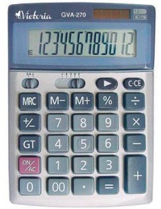 Számológép asztali 12 számjegy VICTORIA GVA-270