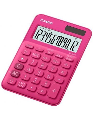 Számológép asztali 12 számjegy CASIO MS 20 UC magenta