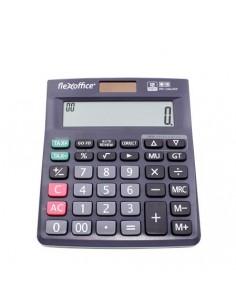 Számológép asztali 12 számjegy FLEXOFFICE FO-CAL05P szürke