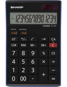 Számológép asztali 14 számjegy SHARP EL-145TBL