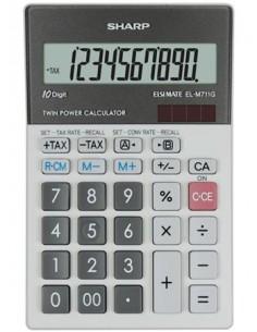 Számológép asztali 10 számjegy SHARP EL-M711G
