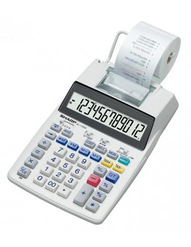 Számológép szalagos 12 számjegy 2 színû nyomtató SHARP EL-1750V