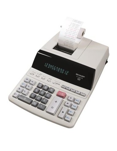 Számológép szalagos 12 számjegy 2 színû nyomtató SHARP EL-2607PGGYSE