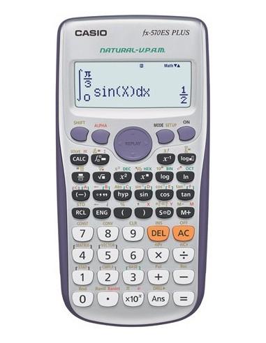 Számológép tudományos 417 funkció CASIO FX-570ES Plus