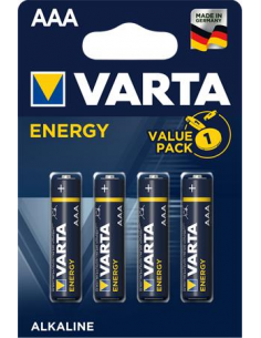 Elem AAA mikro 4 db VARTA Energy