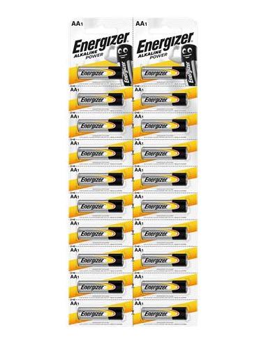 Elem AA ceruza 20 db egyesével téphető ENERGIZER Alkaline Power Kartella