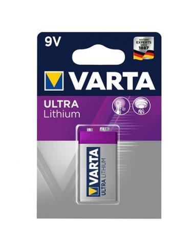 Elem 9V 1 db lítium VARTA Professional Lithium