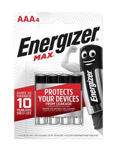 Elem AAA mikro 4 db ENERGIZER Max