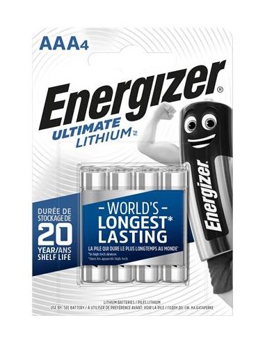 Elem AAA mikro 4 db Lítium ENERGIZER Ultimate Lithium