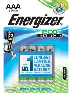Elem AAA E92 mikro 4 db alkáli ENERGIZER EcoAdvanced