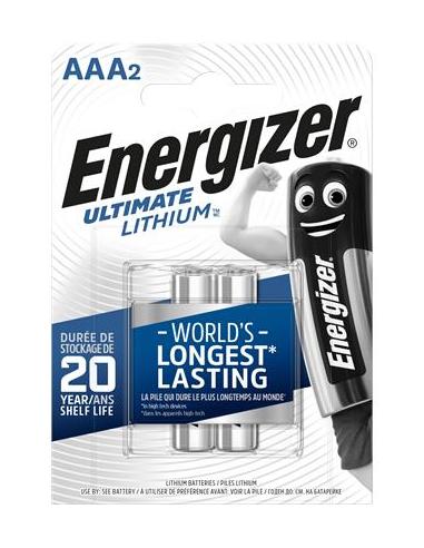 Elem AAA mikro 2 db Lítium ENERGIZER Ultimate Lithium