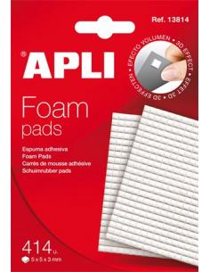 Ragasztó négyzetek 414 db/csomag kétoldalas APLI
