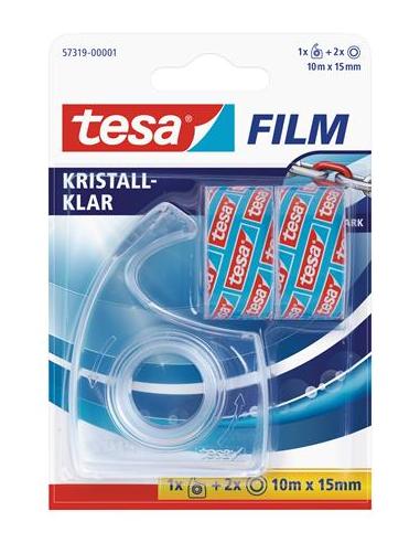 Ragasztószalag adagoló kézi TESA + 2 db 15mm x 10 m ragasztószalag
