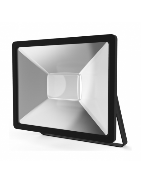 UltraTech  LED reflektor 50W fekete 4000K hidegfehér 5000 lumen  IP65 30000 óra FL5000BK