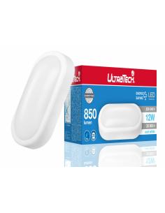 UltraTech  LED hajólámpa 12W 850 lumen 4000K 25000 óra IP54  UTL-LEDBHO850