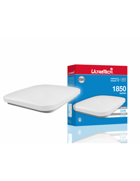UltraTech  LED mennyezeti lámpatest 24W 1850 lumen 4000K IP20 UTL-LEDL1850Q