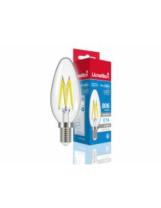 UltraTech  LED filament  gyertya izzó E14 6 W 470 lumen 4000K hidegfehér