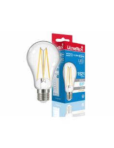 UltraTech  LED filament normál izzó E27 11Watt 1521 lumen 2700K melegfehér