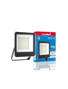 UltraTech  LED reflektor 100Watt 4000K hidegfehér 9000 lumen 25000 óra LEDFL9000BK